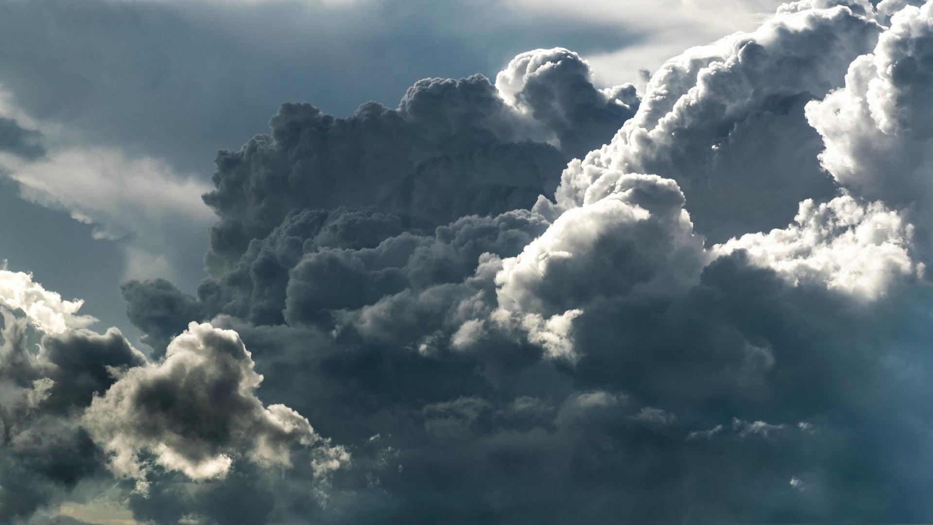 grey white clouds sky weather 1 1 失樂園|卡特朱魯/灰姑娘詩選